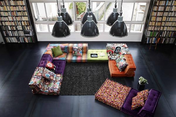 un repaso a los iconos de roche bobois medio siglo creando tendencias. Black Bedroom Furniture Sets. Home Design Ideas