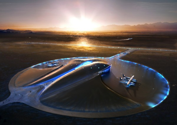 Spaceport de norman foster diariodesign