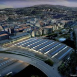Simulacion futura estacion alta velocidad AVE Ourense diariodesign