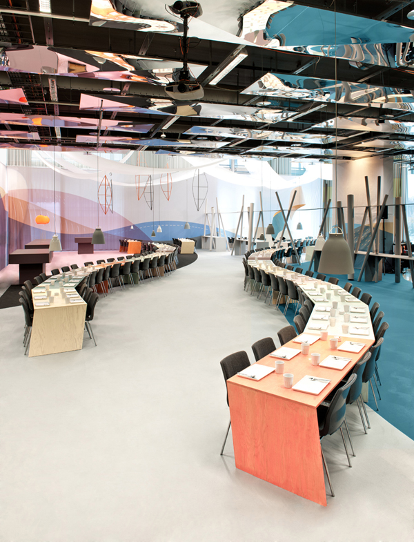 Note design studio dise a un restaurante de inspiraci n primaveral en la feria sueca formex - Disena studio ...
