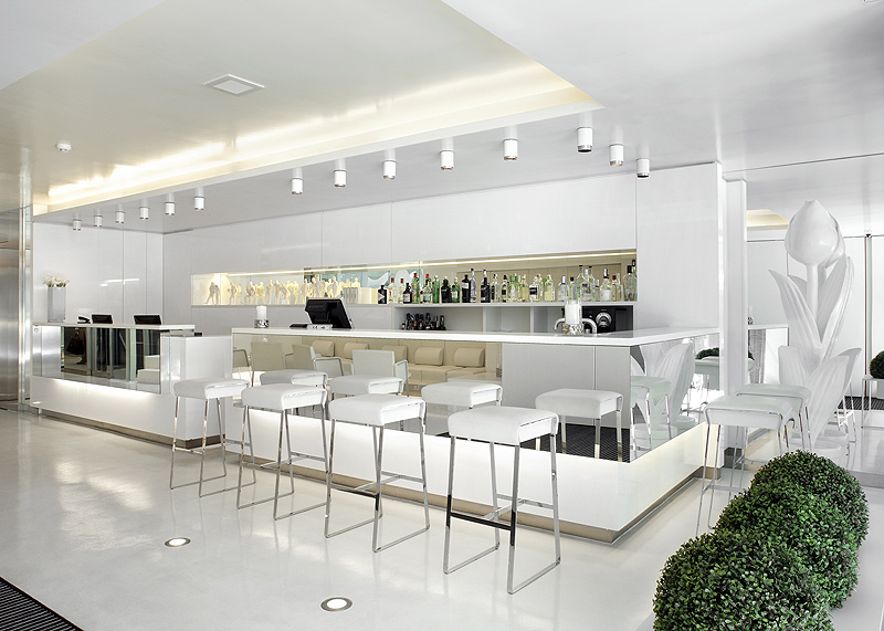hotel the mirror de gca arquitectos asociados reflejos