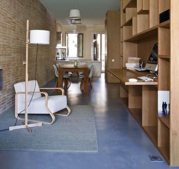 Tendencias diariodesign cemento de puertas adentro for Suelos de hormigon para jardin