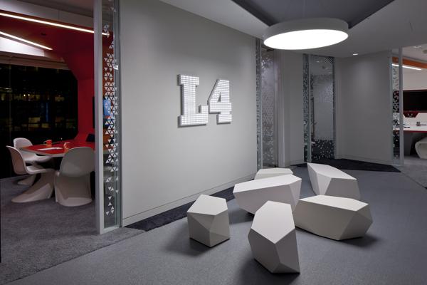 Penson redise a las oficinas centrales de google en for Google office interior designs pictures