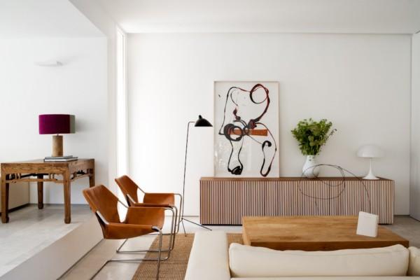 Interiores vintage y depurados en un dise o conjunto de for Diseno de interiores vintage