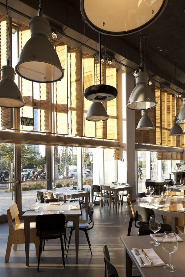 Bk dise a el restaurante jaffa tel aviv sencillez y for Cocina restaurante segunda mano