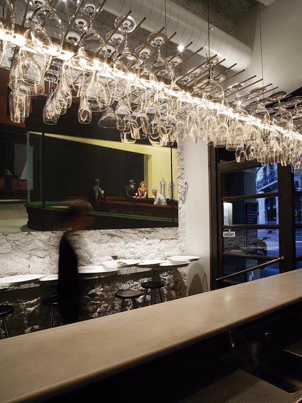 Restaurante cata 181 dise o lagranja cien ecl cticos - Decoracion de bares de copas ...