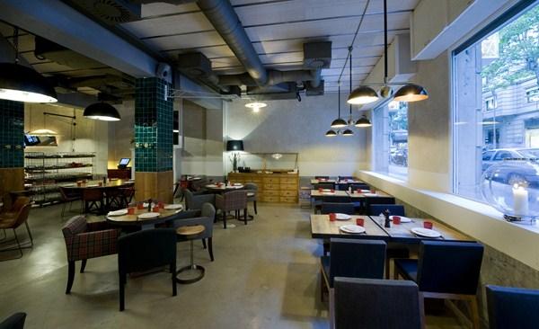 Restaurante casa paloma en barcelona c lido ambiente industrial de toque vintage - Restaurante casa paloma barcelona ...