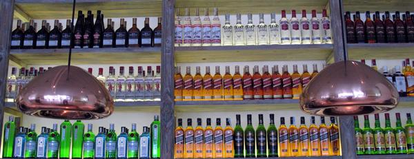 bebidas en Restaurante Lateral Castellana 42 en madrid