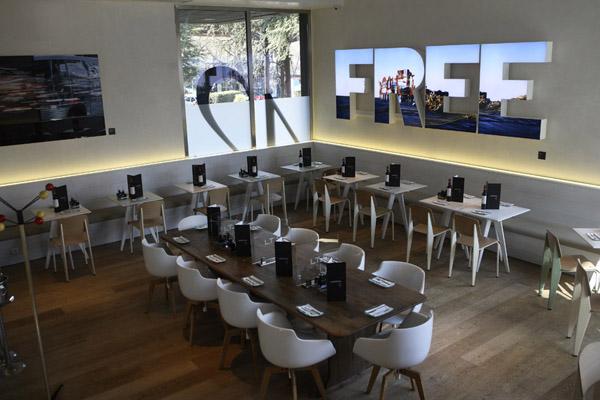 restaurante art bar en madrid lateral