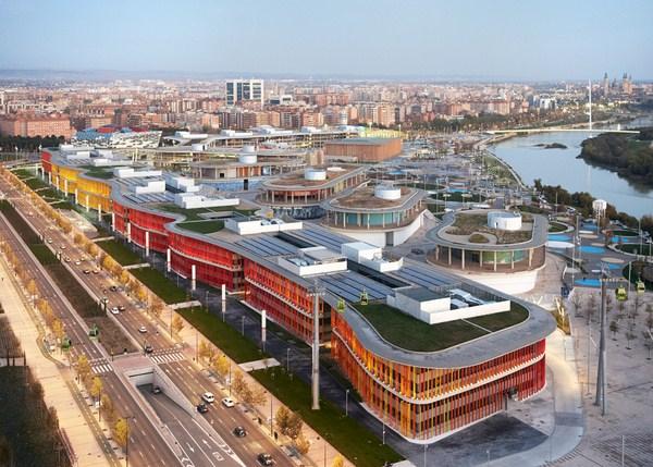 Reconversi n de las instalaciones de la expo zaragoza 2008 en la nueva ciudad de la justicia - Estudio arquitectura zaragoza ...