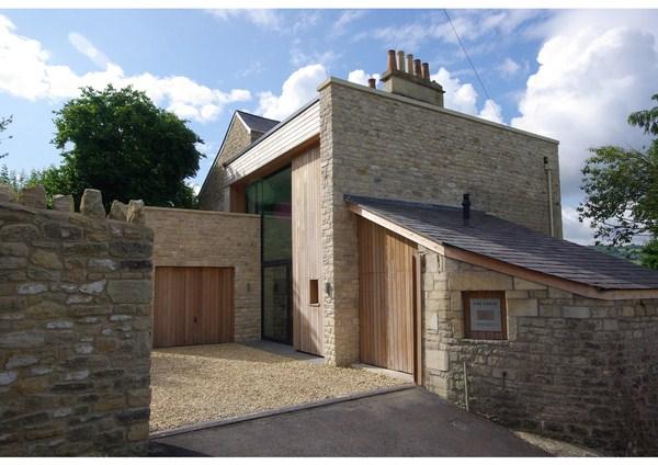 The fosse en bath una antigua villa se reinventa en una for Casa moderna de campo