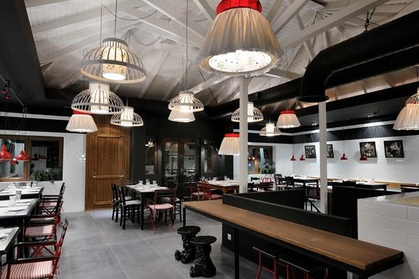Fabrica creaton un restaurante con aires de carnicer a en - D fabrica interiorismo ...