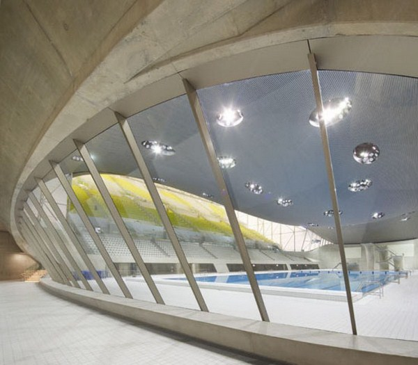 7 London Aquatic Center ZHA Hufton+Crow