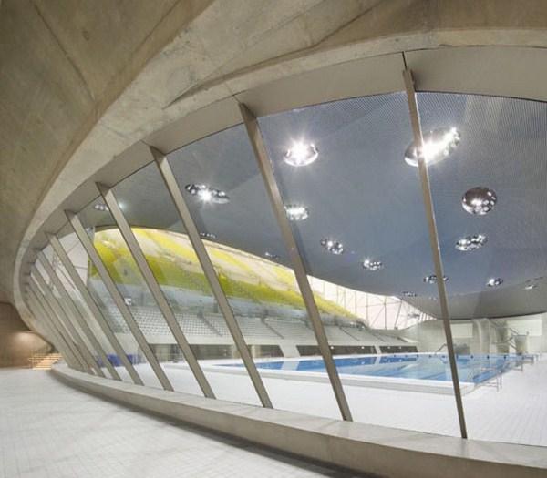 7 London Aquatic Center ZHA Hufton+Crow