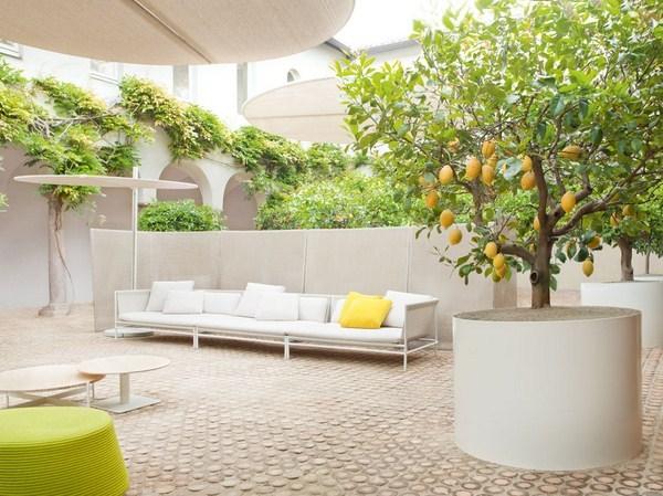 La nueva colecci n de paola lenti muebles de exterior que - Arboles terraza ...