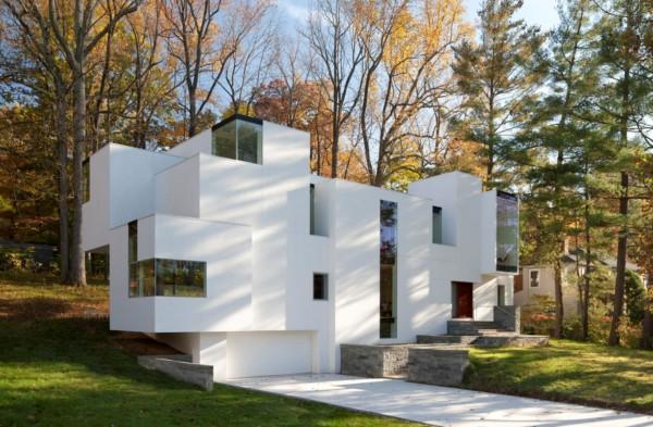 Naci house la casa 39 cubista 39 donde los vol menes - Cubismo arquitectura ...