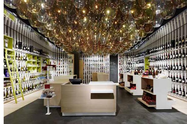 599 razones vin colas para visitar la nueva tienda - Diseno de vinotecas ...