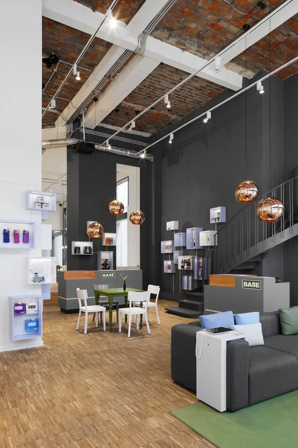 Base camp en berl n centro de operaciones dise o de nest for Design shop berlin