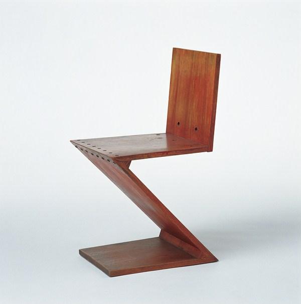 Gerrit rietveld la revoluci n del espacio vitra for Design stuhl zig zag