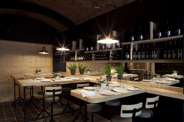 Pilar l bano rehabilita el restaurante santana esp ritu for Restaurantes modernos exterior