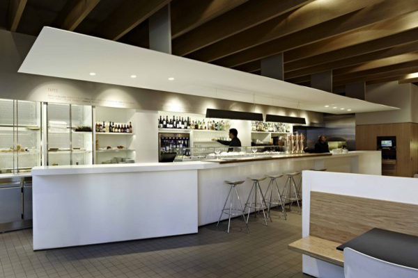 Estruch una cl sica cafeter a barcelonesa rejuvenecida por antoni arola isern serra y sylvain - Diseno cafeterias modernas ...