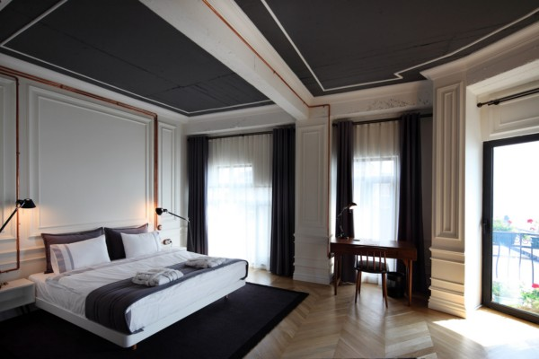 Karak y rooms la elegancia del estilo moderno cl sico en for Design boutique hotels slowenien