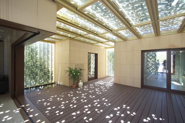 Visita en madrid las m s innovadoras casas sostenibles - Patio ingles ...