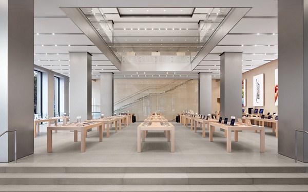 apple store en barelona paseo de gracia diariodesign