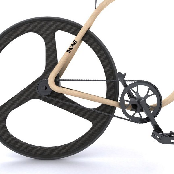 bicicleta de madera de andy martin para thonet bike diariodesign
