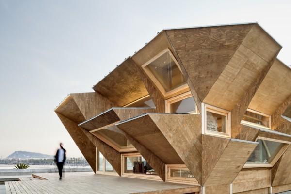 El pabell n endesa en barcelona un prototipo de casa for Oficinas de fecsa endesa en barcelona