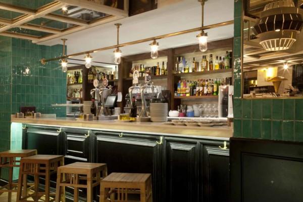 barra de restaurante casa mono en madrid