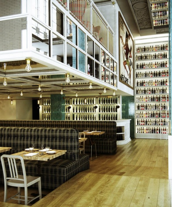 interior restaurante casa mono en madrid