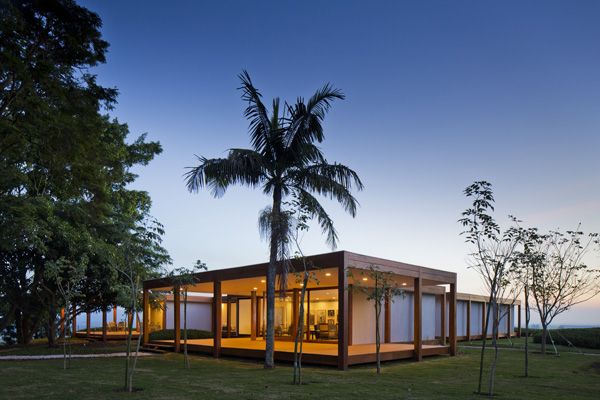 Fazenda Boa Vista Golf Clubhouse Architecture Festival 2012 diariodesign