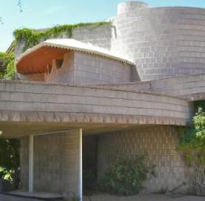 Casa diseñada por Frank Lloyd Wright en Phoenix (Arizona). Foto Scott Jarson/azarchitecture.com