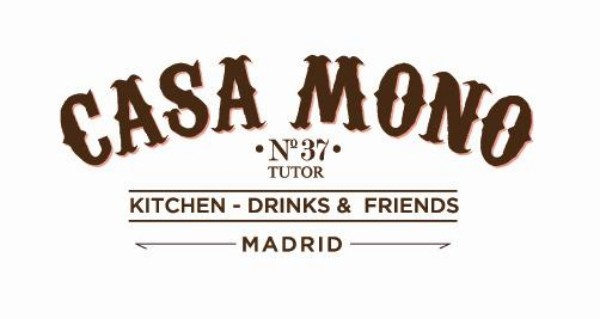 logotipo restaurante casa mono en madrid