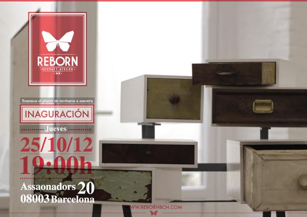 Reborn recraft atelier taller tienda de muebles y objetos for Reciclado de muebles y objetos