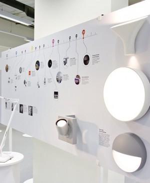 Antares Iluminación - Flos Architectural en la exposición 'Empresa, diseño e innovación'