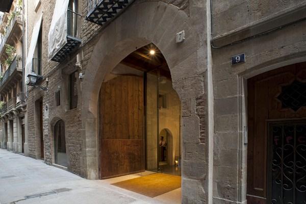 Mercer hotel barcelona arquitecto rafael moneo entrada diariodesign
