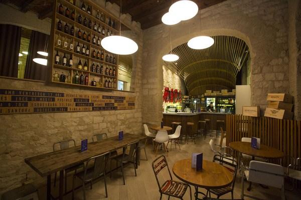 restaurante Mercer hotel barcelona arquitecto rafael moneo diariodesign