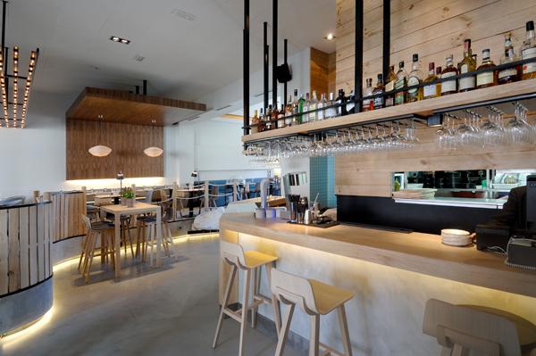 La simplicidad natural protagoniza el dise o del - Restaurantes de diseno ...