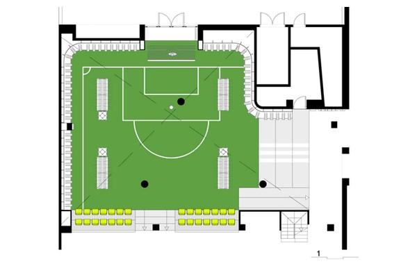 plano tienda futbolmania en barcelona