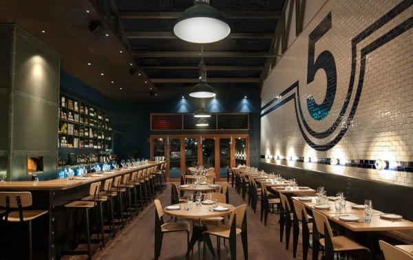 Shed restaurante con pasado industrial en melbourne