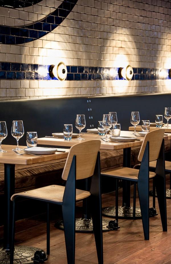 restaurante melbourne pasado industrial mesas Shed 5 diariodesign