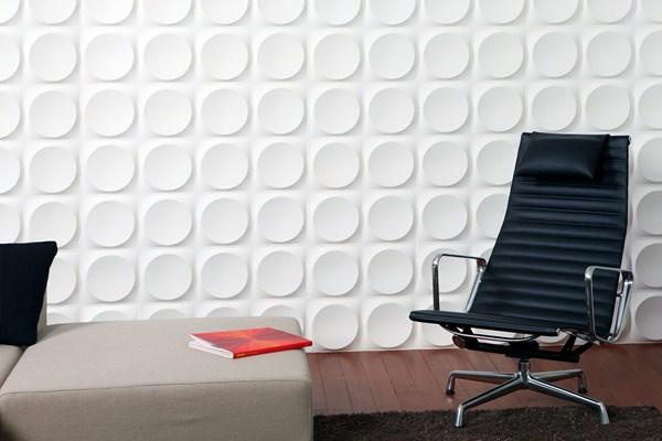Paneles de pared 3d un concepto innovador y eco para la - Paneles para revestir paredes ...