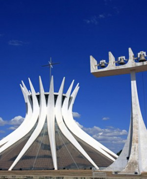 brasilia catedral oscar niemeyer diariodesign