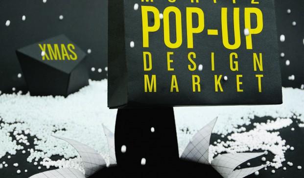 cartel pop up design market cerveses Moritz diariodesign