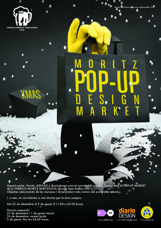 Adi fad diariodesign y moritz presentan su pop up design market una tienda muy especial de - Moritz ronda sant antoni ...