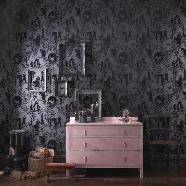 papeles pintados estilo gótico spellbound diariodesign