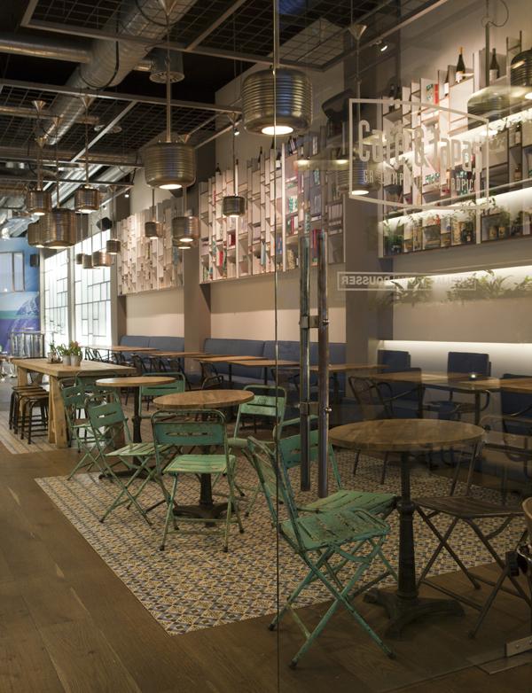 Caf tapas refresca su imagen con su nuevo local en la - Decoracion locales hosteleria ...