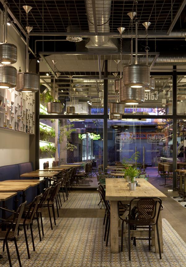 Caf tapas refresca su imagen con su nuevo local en la for Como administrar un restaurante pequeno